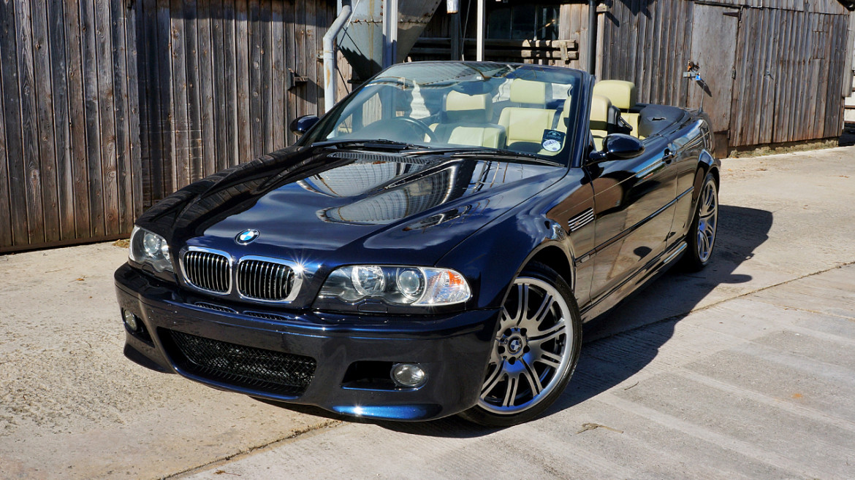 Carbon black BMW M3 (E46) - Paint Correction and Detailing