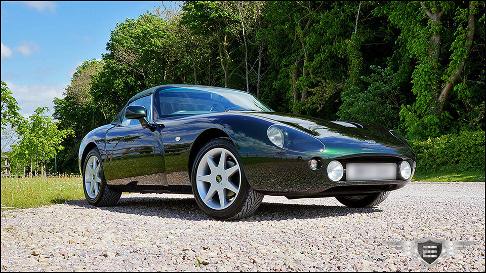 TVR Griffith 500 SE - Correction Detail and Gtechniq TSP | Exclusive Car Care