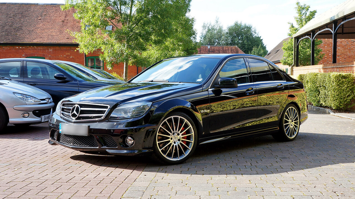 mercedes benz c63 amg car detailing reading
