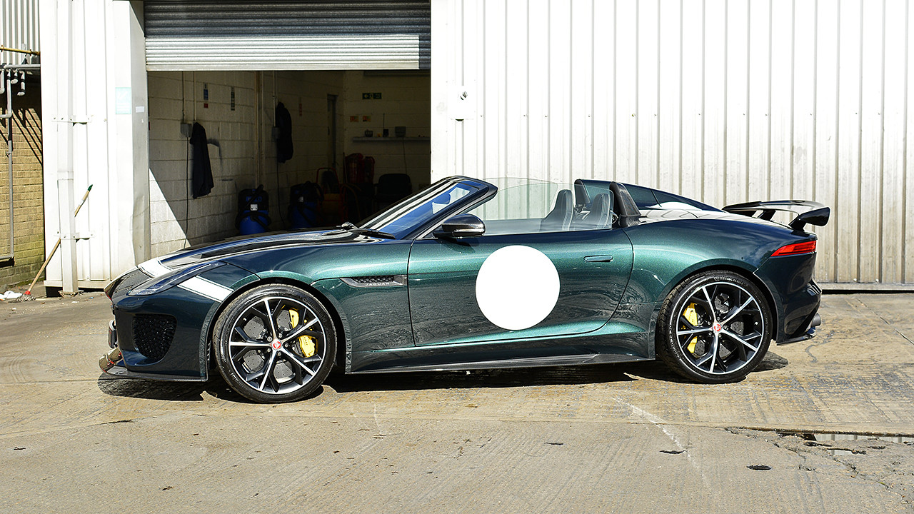 Trio of Jaguar F-Type Project 7's receive a Swissvax New Car Detail | Exclusive Car Care 19