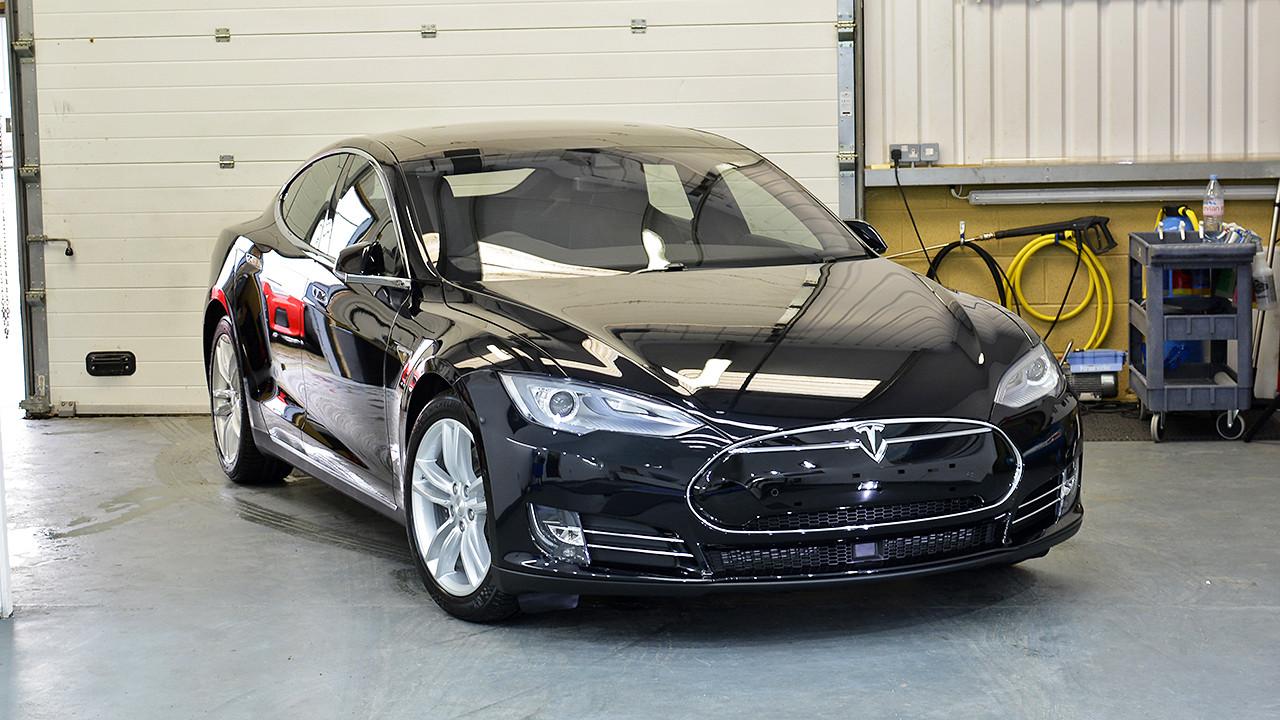 Tesla Model S 85D - Gtechniq New Car Detail | Exclusive Car Care 22