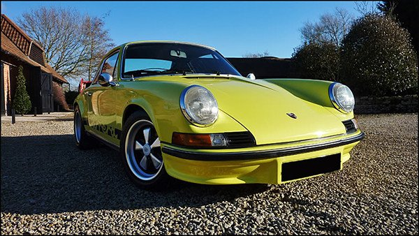 1973 Porsche 911 RS Paint Protection Detail