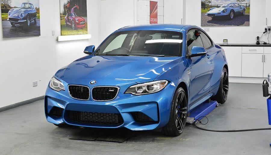 Bmw m2 new car detail gtechniq paint protection for New paint car