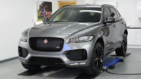 Gtechniq Ceramic Protection for a new Jaguar F-Pace | Exclusive Car Care 24