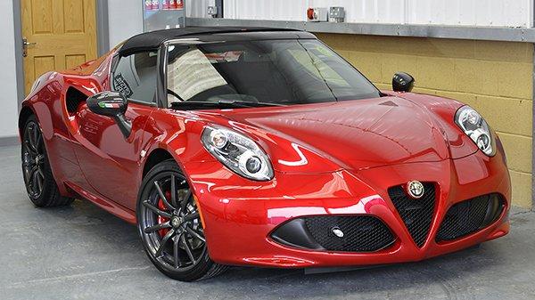 Alfa Romeo 4C Spider 50th Anniversary Limited Edition