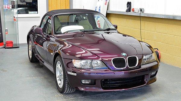 BMW Z3 Car Detailing Swindon