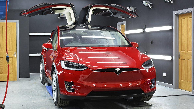 Tesla Model X - New Car Detail & Paint Protection Film (PPF) | Exclusive Car Care 32