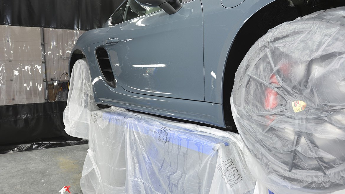 Xpel & Gtechniq Protection for a new Porsche 718 Cayman S | Exclusive Car Care 47