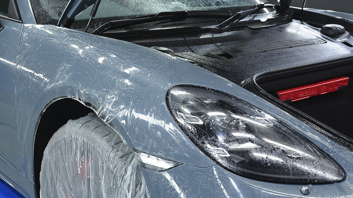 Xpel & Gtechniq Protection for a new Porsche 718 Cayman S | Exclusive Car Care 49