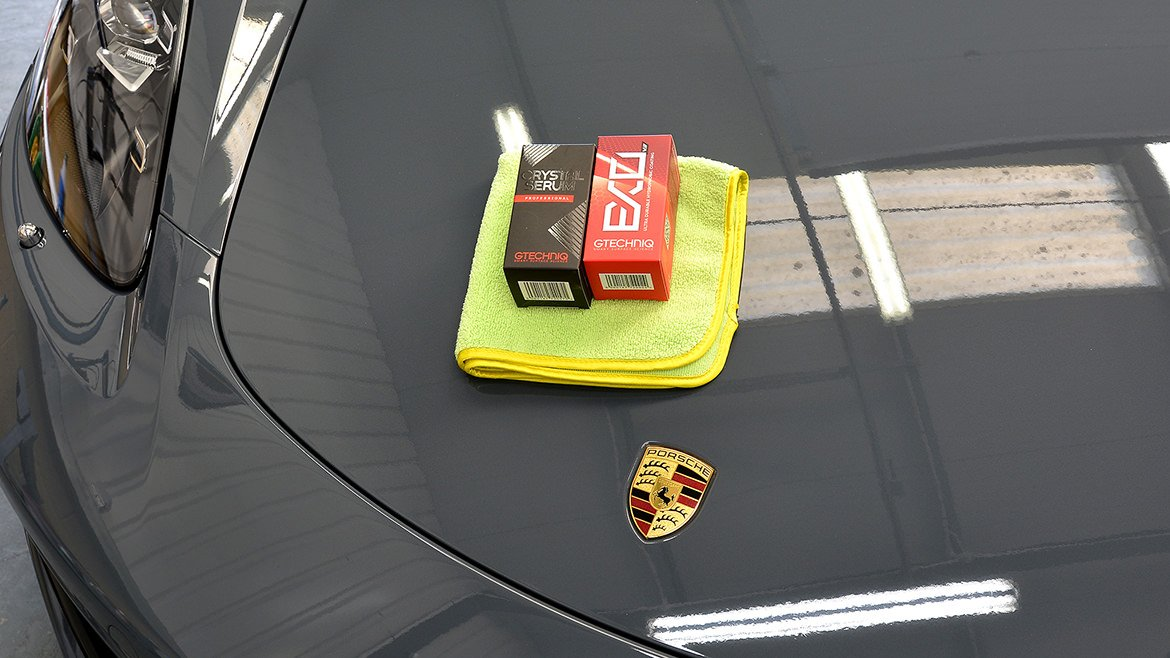 Xpel & Gtechniq Protection for a new Porsche 718 Cayman S | Exclusive Car Care 53