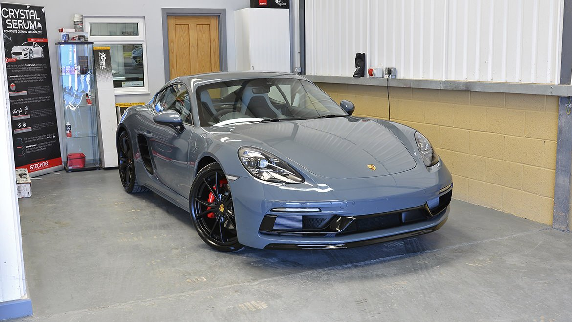 Xpel & Gtechniq Protection for a new Porsche 718 Cayman S | Exclusive Car Care 57