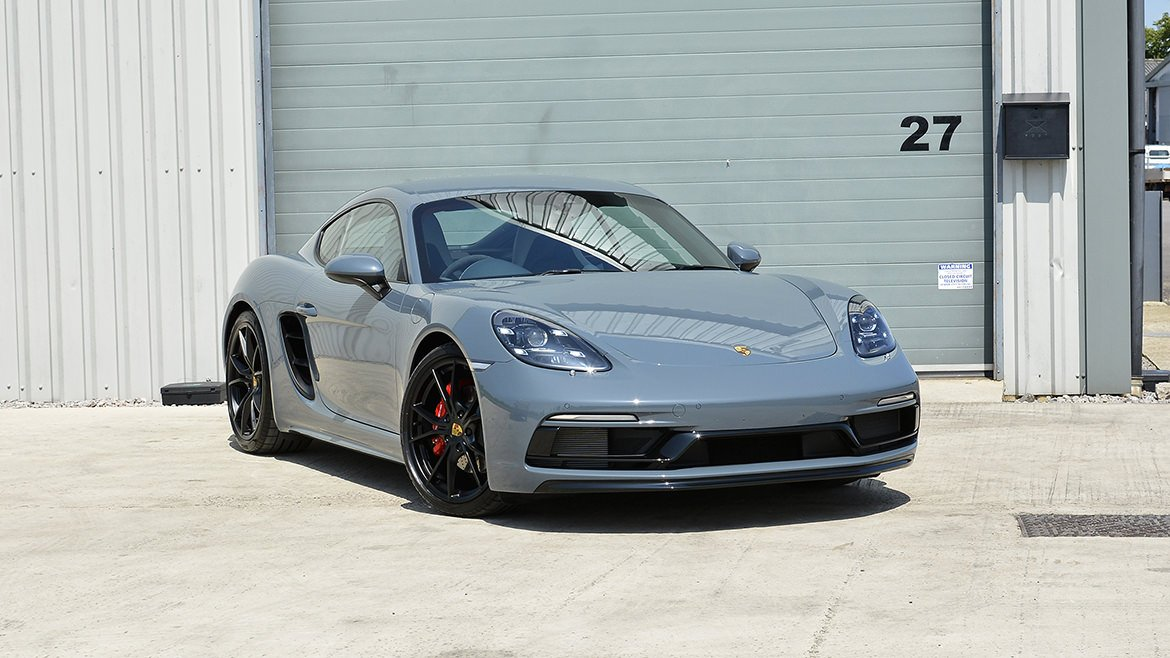 Xpel & Gtechniq Protection for a new Porsche 718 Cayman S | Exclusive Car Care 64
