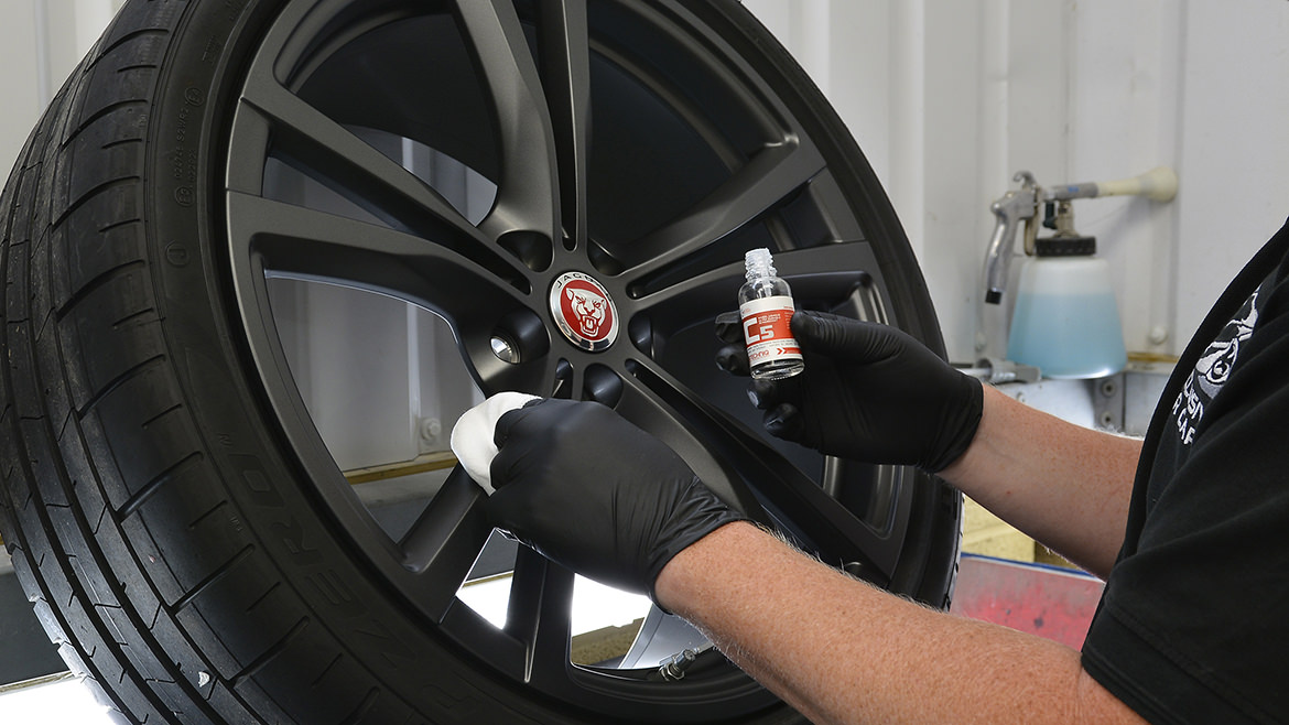 Protecting a new Jaguar F-Type SVR   Exclusive Car Care 11