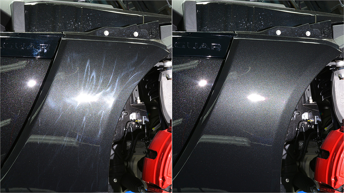 Protecting a new Jaguar F-Type SVR   Exclusive Car Care 4