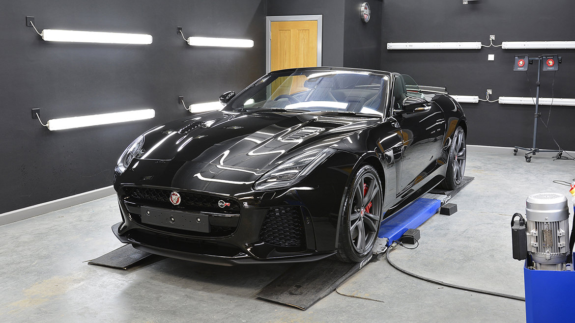 Protecting a new Jaguar F-Type SVR   Exclusive Car Care 18