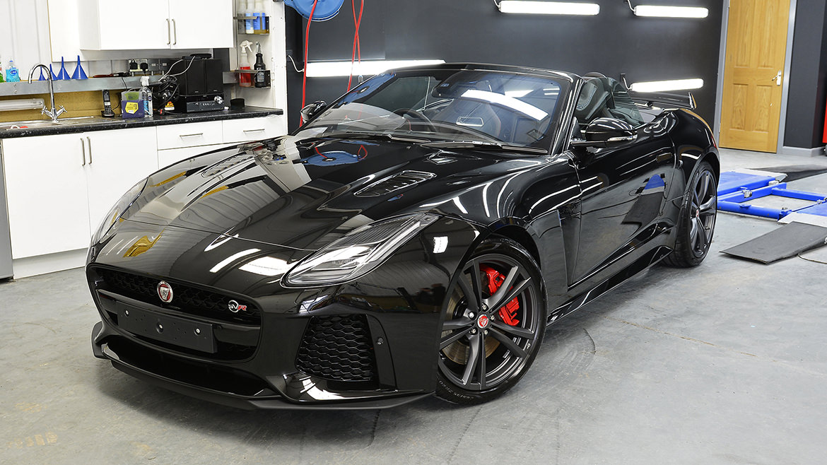 Protecting a new Jaguar F-Type SVR   Exclusive Car Care 22