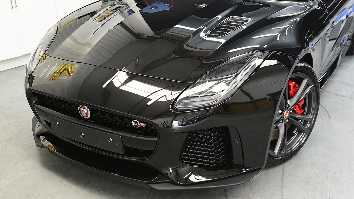 Protecting a new Jaguar F-Type SVR   Exclusive Car Care 23
