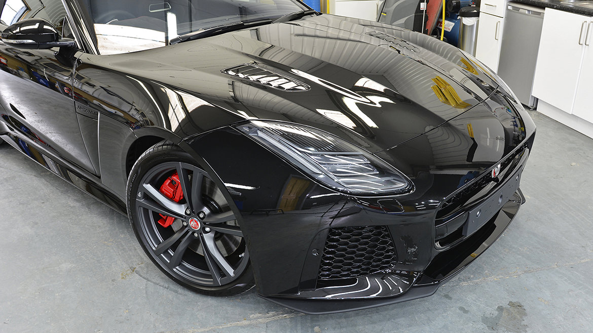 Protecting a new Jaguar F-Type SVR   Exclusive Car Care 24