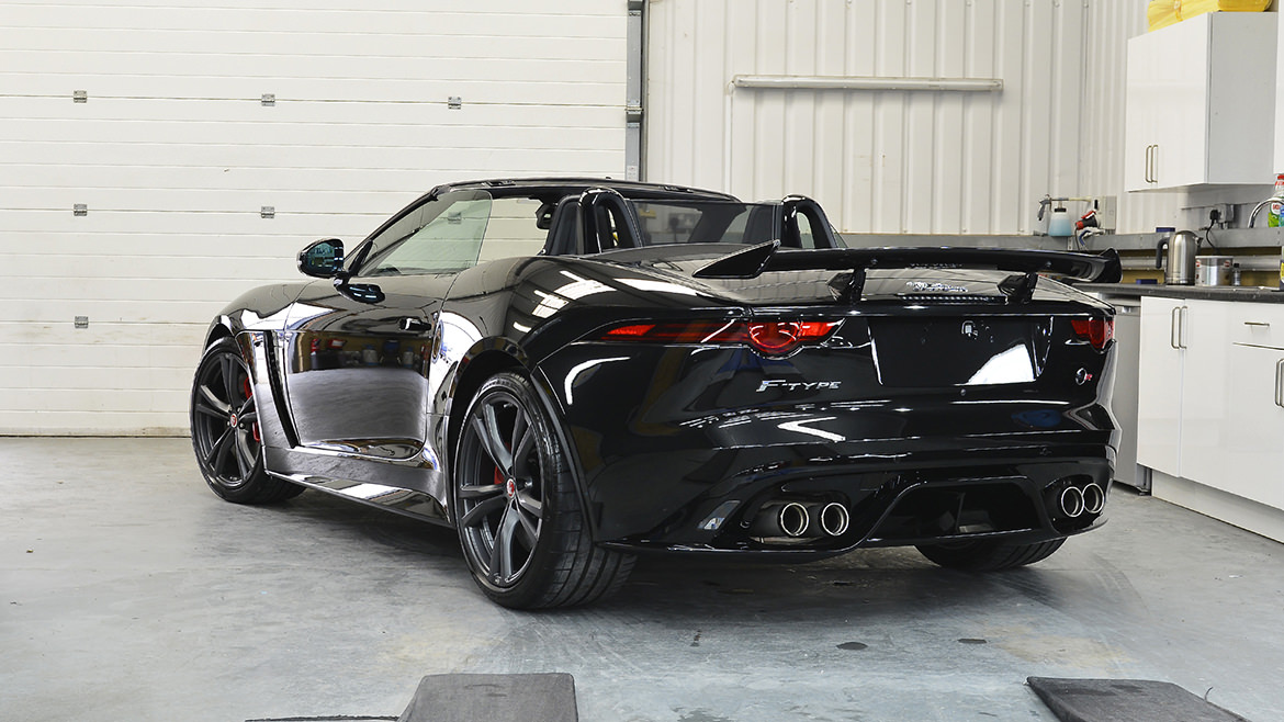 Protecting a new Jaguar F-Type SVR   Exclusive Car Care 25