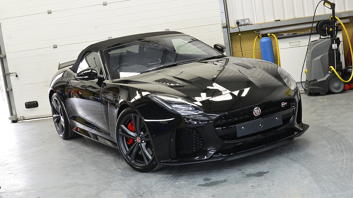 Protecting a new Jaguar F-Type SVR   Exclusive Car Care 28