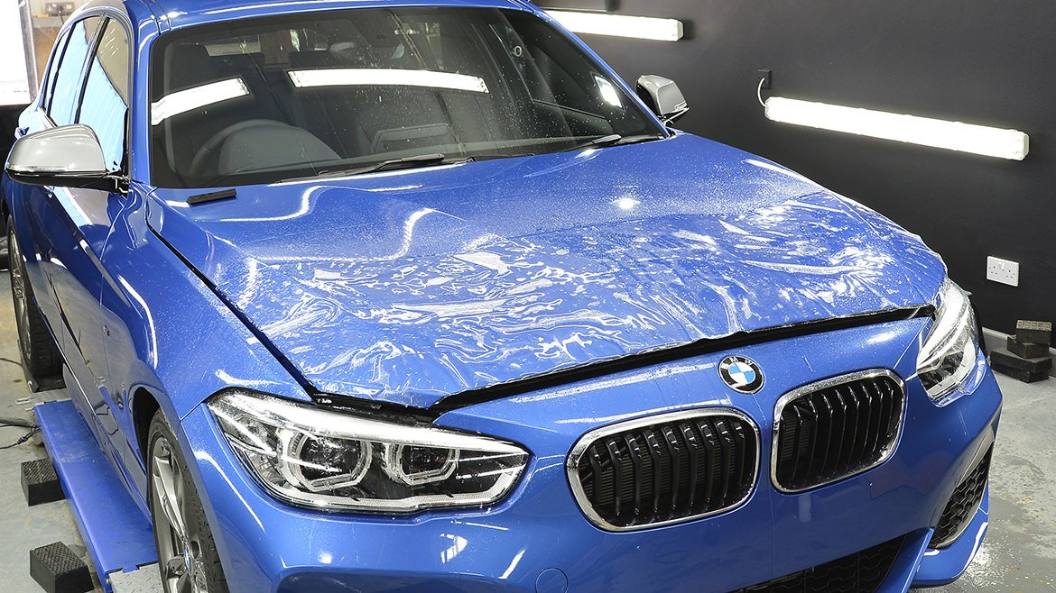 Protecting a new BMW M140i with Paint Protection Film (PPF) & Gtechniq