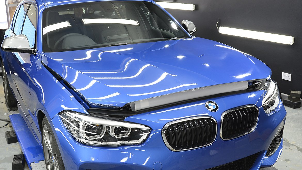 Paint Protection Film (PPF) & Gtechniq Ceramic Coatings for a New BMW M140i | Exclusive Car Care 5
