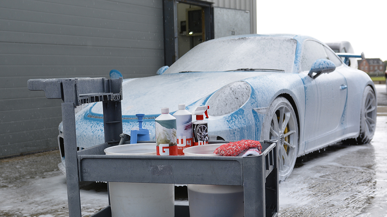 SunTek Ultra PPF & Gtechniq Protection for a Miami Blue Porsche 991.2 GT3 | Exclusive Car Care 1