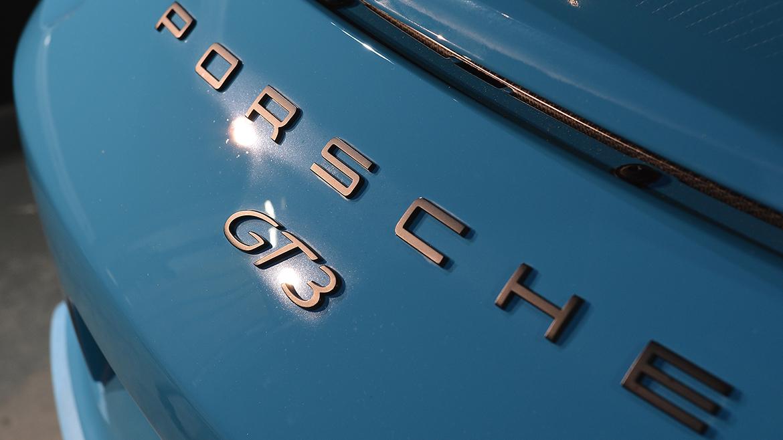 SunTek Ultra PPF & Gtechniq Protection for a Miami Blue Porsche 991.2 GT3 | Exclusive Car Care 5