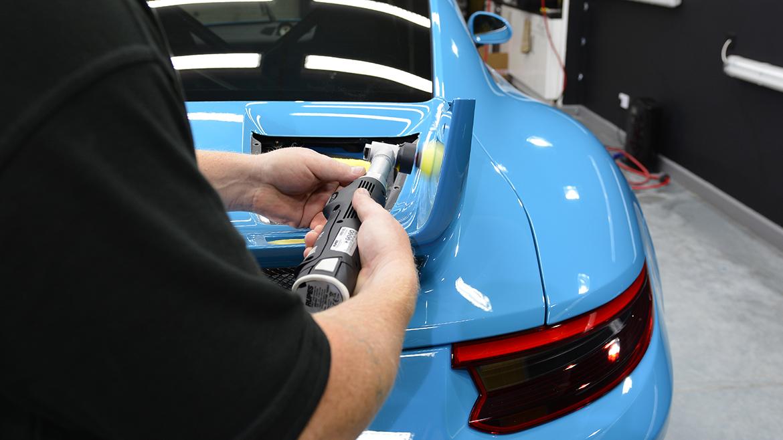 SunTek Ultra PPF & Gtechniq Protection for a Miami Blue Porsche 991.2 GT3 | Exclusive Car Care 10
