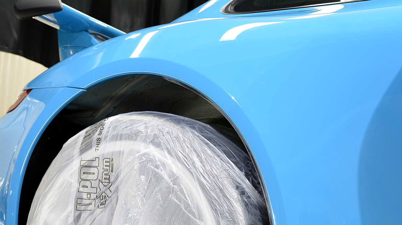 SunTek Ultra PPF & Gtechniq Protection for a Miami Blue Porsche 991.2 GT3 | Exclusive Car Care 15