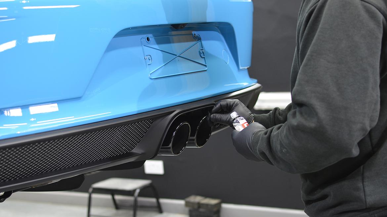 SunTek Ultra PPF & Gtechniq Protection for a Miami Blue Porsche 991.2 GT3 | Exclusive Car Care 20