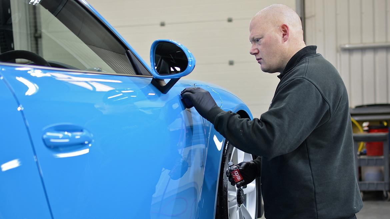 SunTek Ultra PPF & Gtechniq Protection for a Miami Blue Porsche 991.2 GT3 | Exclusive Car Care 21