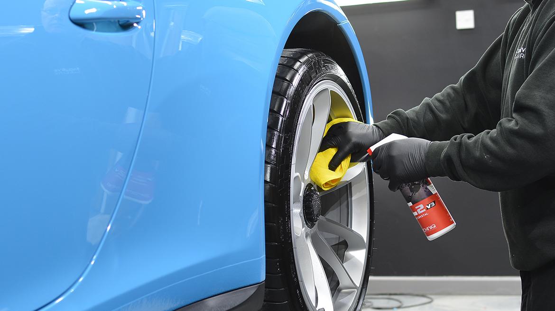 SunTek Ultra PPF & Gtechniq Protection for a Miami Blue Porsche 991.2 GT3 | Exclusive Car Care 22