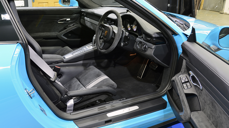 SunTek Ultra PPF & Gtechniq Protection for a Miami Blue Porsche 991.2 GT3 | Exclusive Car Care 23