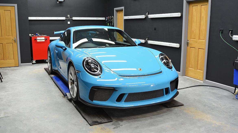 SunTek Ultra PPF & Gtechniq Protection for a Miami Blue Porsche 991.2 GT3 | Exclusive Car Care 25