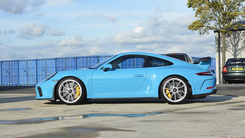 SunTek Ultra PPF & Gtechniq Protection for a Miami Blue Porsche 991.2 GT3 | Exclusive Car Care 29
