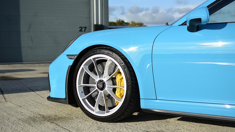 SunTek Ultra PPF & Gtechniq Protection for a Miami Blue Porsche 991.2 GT3 | Exclusive Car Care 30