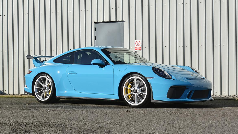 SunTek Ultra PPF & Gtechniq Protection for a Miami Blue Porsche 991.2 GT3 | Exclusive Car Care 31