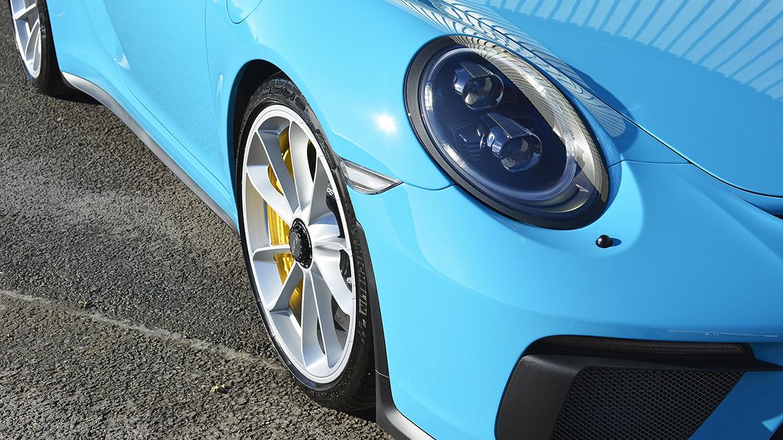 SunTek Ultra PPF & Gtechniq Protection for a Miami Blue Porsche 991.2 GT3 | Exclusive Car Care 32