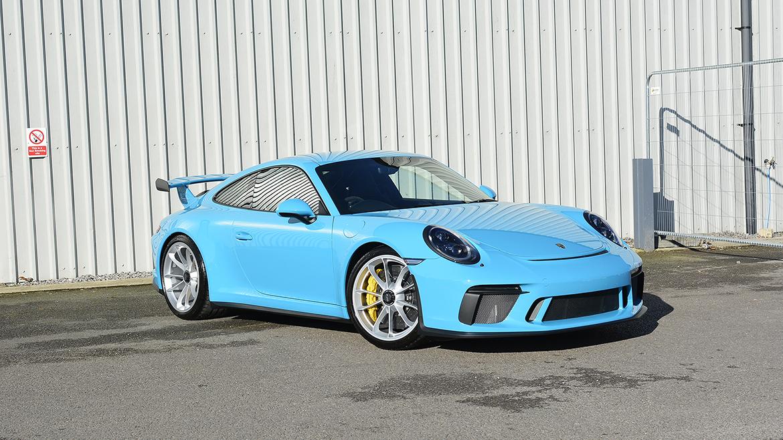 SunTek Ultra PPF & Gtechniq Protection for a Miami Blue Porsche 991.2 GT3 | Exclusive Car Care 33