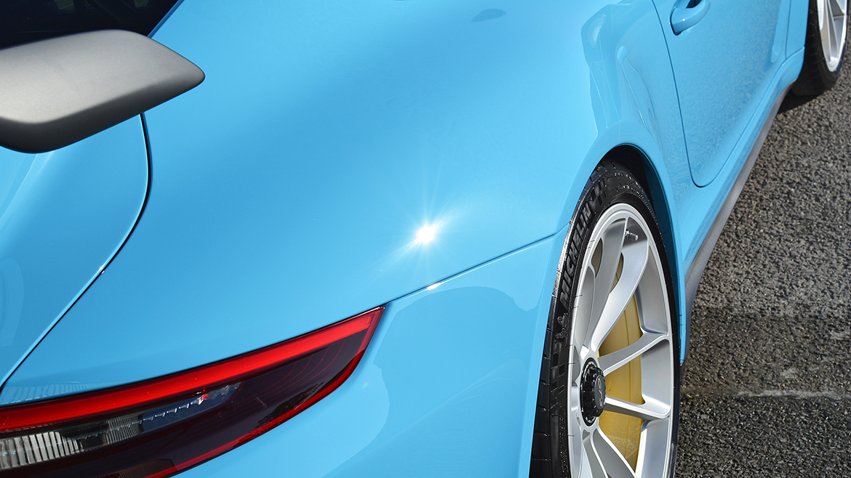 SunTek Ultra PPF & Gtechniq Protection for a Miami Blue Porsche 991.2 GT3 | Exclusive Car Care 34