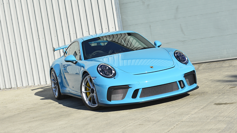 SunTek Ultra PPF & Gtechniq Protection for a Miami Blue Porsche 991.2 GT3 | Exclusive Car Care 35