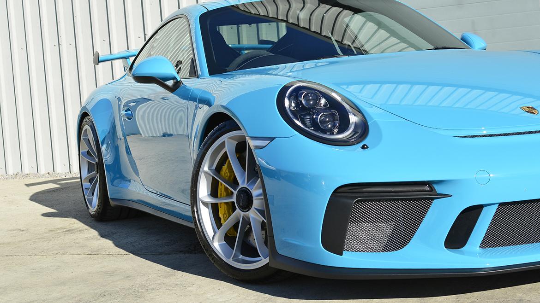 SunTek Ultra PPF & Gtechniq Protection for a Miami Blue Porsche 991.2 GT3 | Exclusive Car Care 36