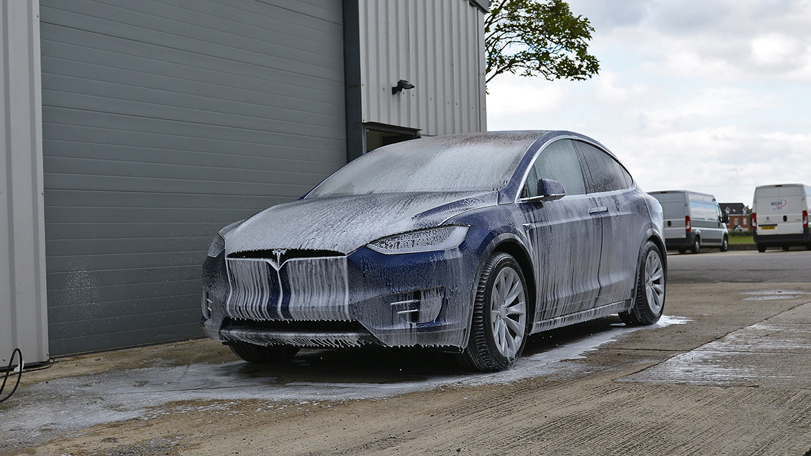 Protecting a new Tesla Model X | Exclusive Car Care 2
