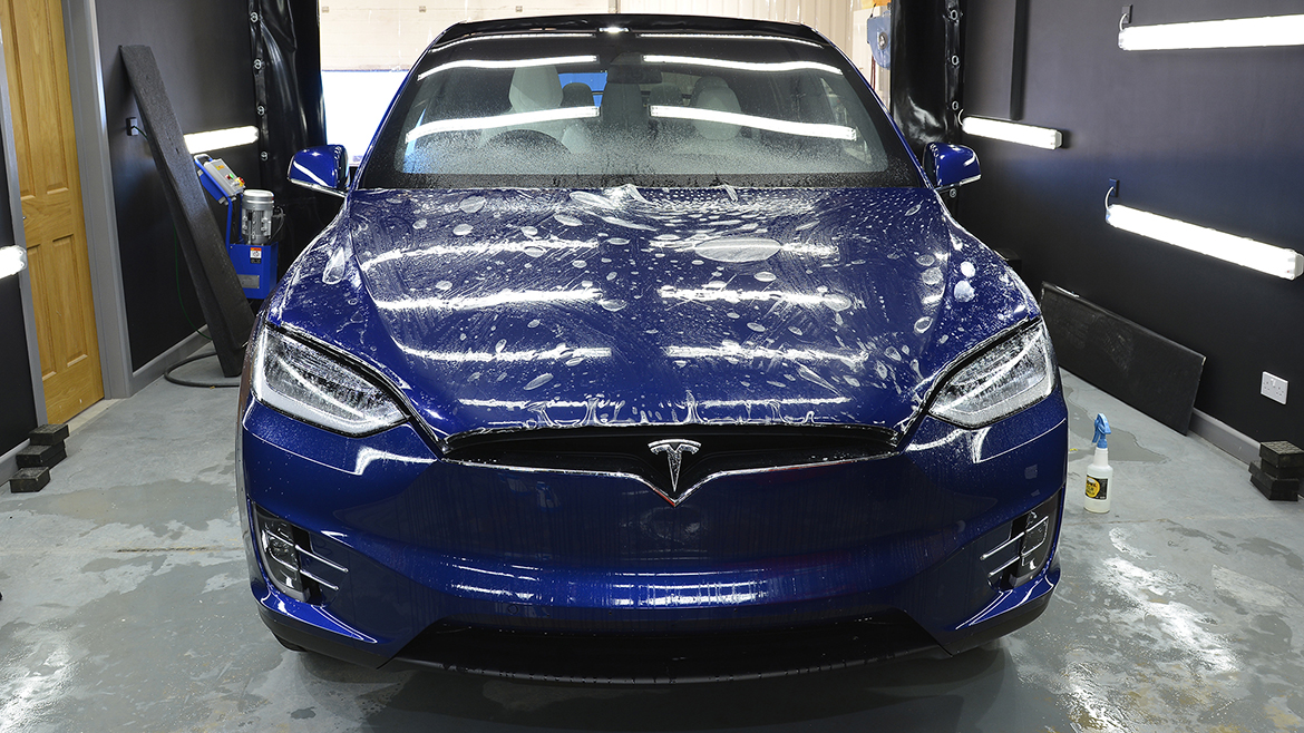 Protecting a new Tesla Model X | Exclusive Car Care 7