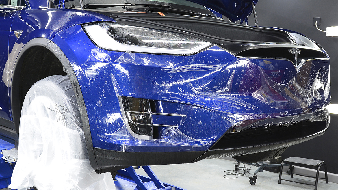 Protecting a new Tesla Model X | Exclusive Car Care 10