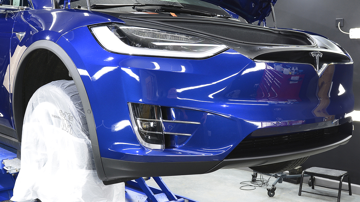 Protecting a new Tesla Model X | Exclusive Car Care 11