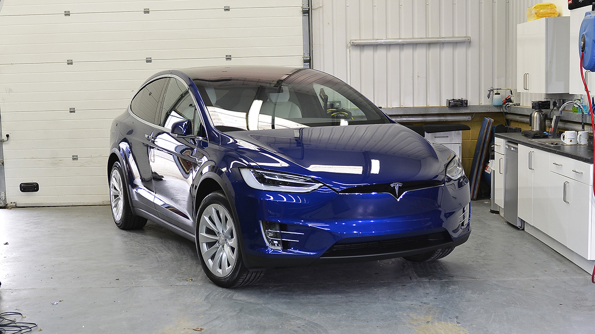 Protecting a new Tesla Model X | Exclusive Car Care 21