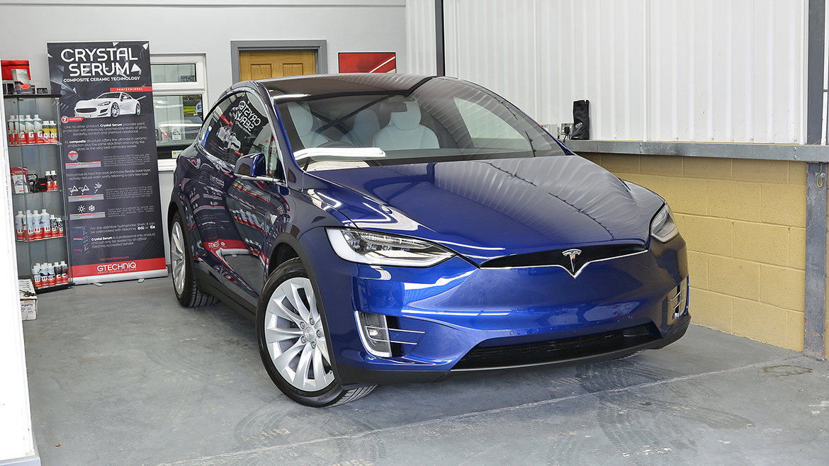 Protecting a new Tesla Model X | Exclusive Car Care 22