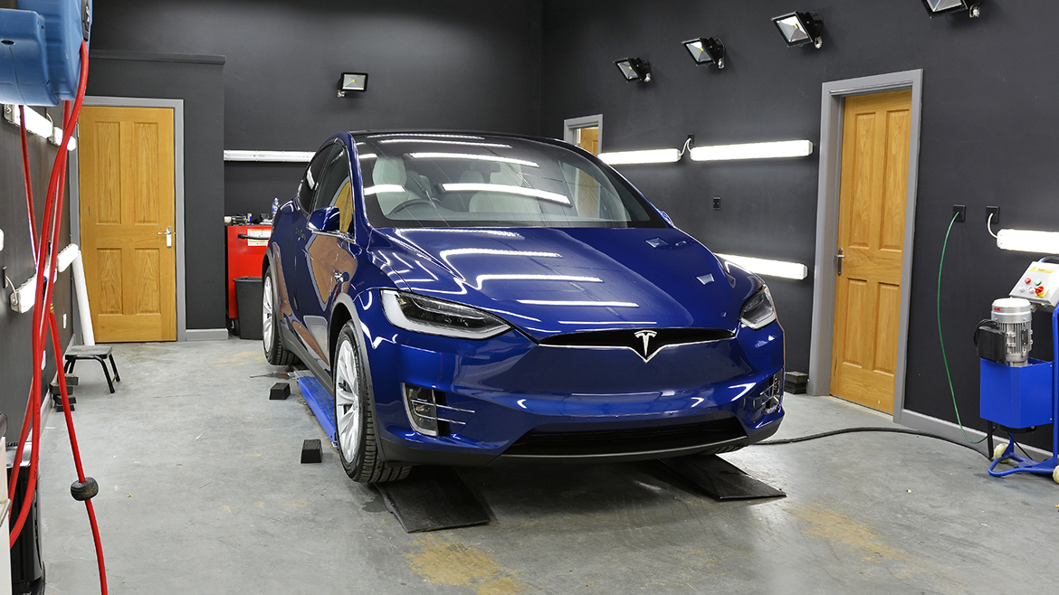 Protecting a new Tesla Model X | Exclusive Car Care 23